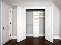 Doors, Cool Bedroom Closet Door Ideas How To Cover A Closet Without Doors  White Wooden
