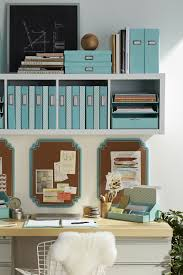 Declutter home office Office Supplies Martha Stewarts Organization Collection At Staples Has Stylish Solutions To Help Declutter Your Home Office Pinterest Create An Organized Home Workspace In Steps Pinterest