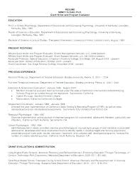 resume for graduate school examples sample grad school resume resume template for graduate school