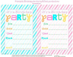 invitations to print free party invitations to print gse bookbinder on design birthday