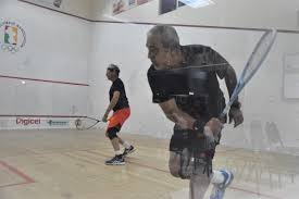 BCOS Guyana Masters Squash Tourney Players turn back the clock on opening  night – Kaieteur News