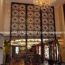 china malaysia room divider stainless steel decorative metal outdoor screens supplier