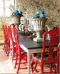 red lacquered furniture. Red Lacquer Furniture Love How The Lacquered Chairs Add Interest To This Dining Room Simple N