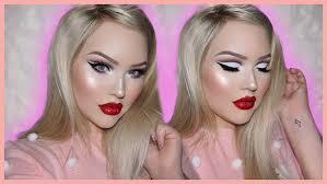 glitter lip tutorial pat mcgrath 004 flesh kit sazan