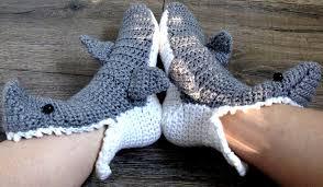 Crochet Shark Slippers Pattern Free Stunning 48 Unbelievable Free Shark Socks Crochet Pattern