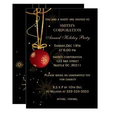 Corporate Holiday Party Invite Elegant Corporate Holiday Party Invitations