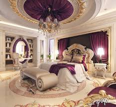 Bedroom Designs: Purple And Gold Bedroom - Bedroom Decor