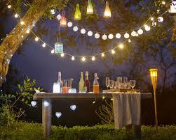 garden light ideas for a party garden design