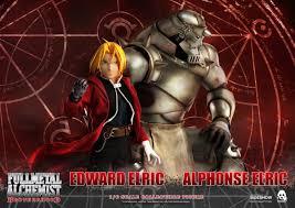 Threezero's Alphonse Elric & <b>Edward Elric Fullmetal Alchemist</b> ...