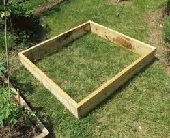4x4 raised garden bed the rusted garden blog