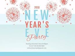 new year s template new years eve day create perfect invitations with design