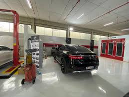 Auto Shop Building Designs Smart Repair Launches Directly To Car Owners In Abu Dhabi