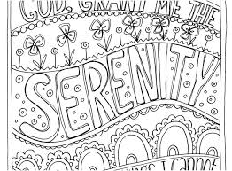Coloring Pages Serenity Prayer Coloring Pages Best Image Of Page