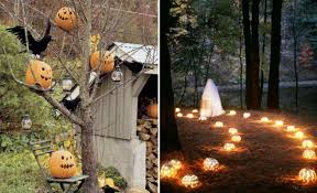 cheap easy halloween decorations for ghost halloween decorations Outdoor Halloween  Decorations diy halloween decorating ideas Most