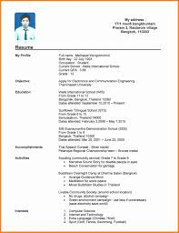 Resume Format For Students New Resume Format For Collegedents With No Work Experience Pdf Examples