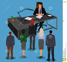 employee concept recruitment human resource selection employee concept recruitment human resource selection interview analysis vector illustration