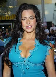 celebrityplunge Vintage Sofia Vergara serving up her cleavage in.