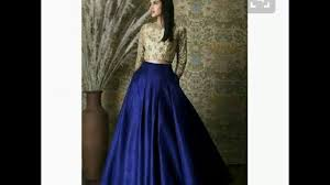 Long Skirt Patterns Beauteous Latest New Patterns Of Long Skirt Latest Fashion YouTube
