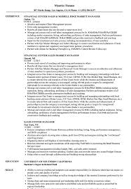 Warehouse Manager Resume Sample Sales Center Manager Resume Samples Velvet Jobs 95