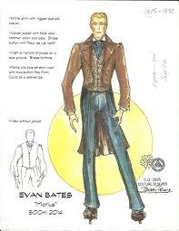 Bobby Pearce Costume Designer Evan Bates 2 Hugh Hanson