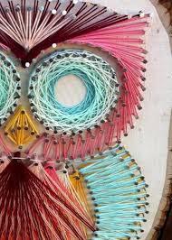 Original String Art Owl Design by CraftsByBliss on Etsy