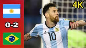 مباراة القرن ال21 البرازيل والأرجنتين 2-0 كوبا امريكا | اهداف مجنون |  مباراة مثيرة - YouTube