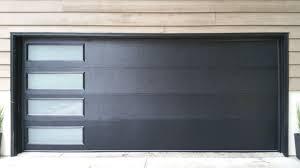 modern flush garage door design