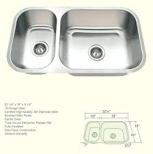 valle stainless steel single size cutout sinks 18 gauge stainless steel sink vallac 18 gauge offset