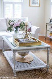 Classic style and european design elements are replete in the. Updating The Family Room With A French Country Coffee Table