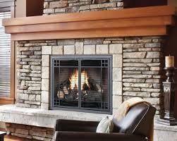 image of diy fireplace doors