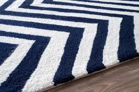 comments of navy blue chevron rug 8x10 white