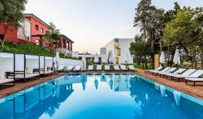 hotel outdoor pool. Santiago Hotel Outdoor Pool In Do Cacem