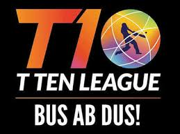 How To Make A League Schedule T10 Cricket League Sharjah Schedule Complete Squads