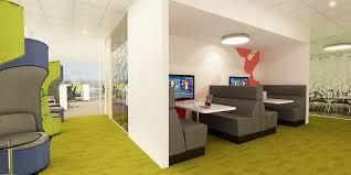 office area design. Office Breakout Meeting Area Design K