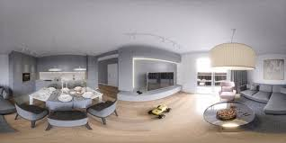 living room with mirrored furniture. A Living Room Filled With Furniture And Flat Screen Tv Bathroom Two Sinks Large Mirror. Toilet Sink. Mirrored E