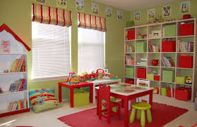 Red Bedroom Chairs Kids Bedroom Entrancing Kid Red And Green Bedroom Decoration