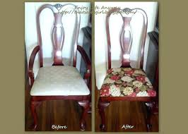 how much fabric to recover a chair lovely decoration recover dining room chairs recover dining room