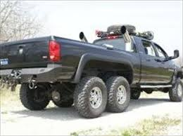 Where are the dual rear axle 6x6 2500 and 3500 Light Duty trucks ...