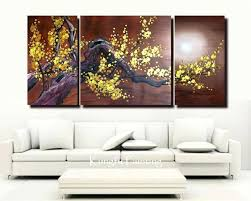 3 panel wall art wall art designs panel wall art hand painted 3 panel wall art  on 3 panel wall art set with 3 panel wall art x inch 3 panel painting wall decor by go hooked 3