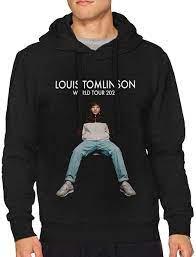 Amazon.com: Louis Tomlinson World Tour 2020 Men's Hoodie Sweater Classic  Long Sleeve Tops Hooded Sweatshirt: Clothing