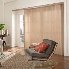 patio door window treatments vertical