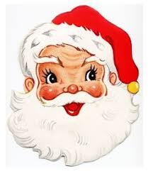 vintage santa claus face clipart. Simple Clipart Vintage Christmas Card More  With Santa Claus Face Clipart F