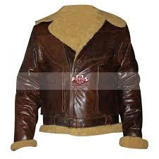 polo ralph lauren dover shearling er brown jacket
