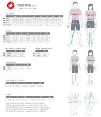 Castelli Clothing Size Chart Shop Mcbc