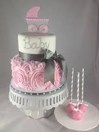 best 25 baby cakes ideas on pinterest onesie cake, cakes for Baby Girl Cakes baby shower cake ideas this would be easy to make into a wedding cake and with baby girl cakes for shower