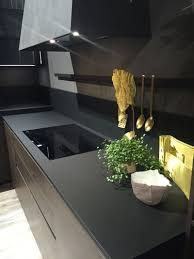 kitchen counter. Black Kitchen Design With Tools Holder Counter N