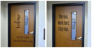 classroom door with window. Large Classroom Door Decals Only $9.99 Each With Window H