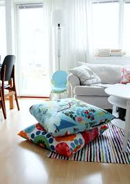 Floor Pillows And Poufs 57 Cool Ideas To Decorate Your Place With Floor Pillows Shelterness