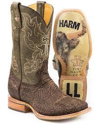 Amazon Com Tin Haul Mens Do No Harm Boots Sports Outdoors