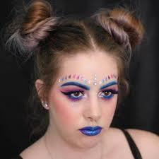 easy rave makeup design